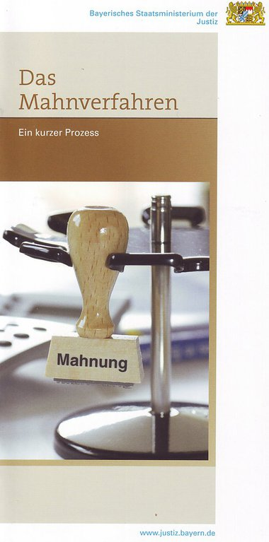 Das Mahnverfahren Ein Kurzer Prozess Jiz München